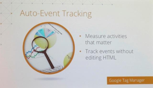 Auto Event Tracking in Google Analytics